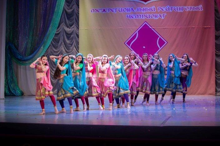 В Астрахани прошёл фестиваль восточных танцев