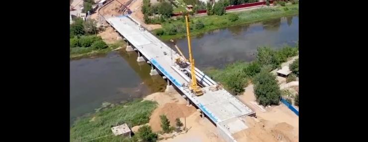 Ремонт Милицейского моста в Астрахани идет с опережением графика