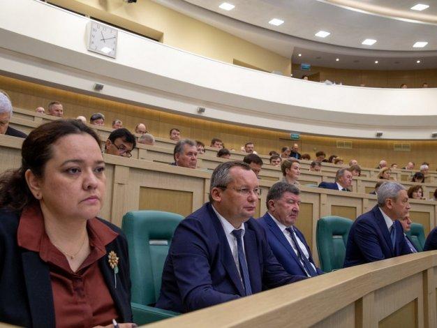 Игорь Мартынов участвовал в парламентских слушаниях Совета Федерации по формированию бюджета