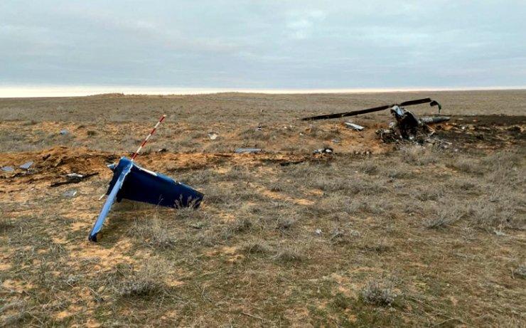 Авиационный комитет расследует крушение вертолёта под Астраханью