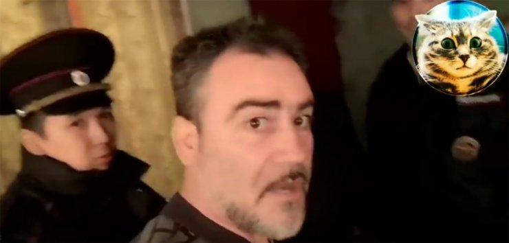 К астраханскому блогеру пришла полиция