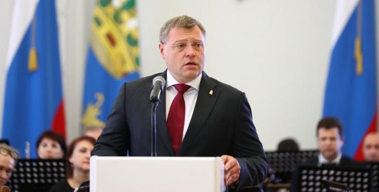 Губернатор Игорь Бабушкин поздравил астраханцев с Днем России