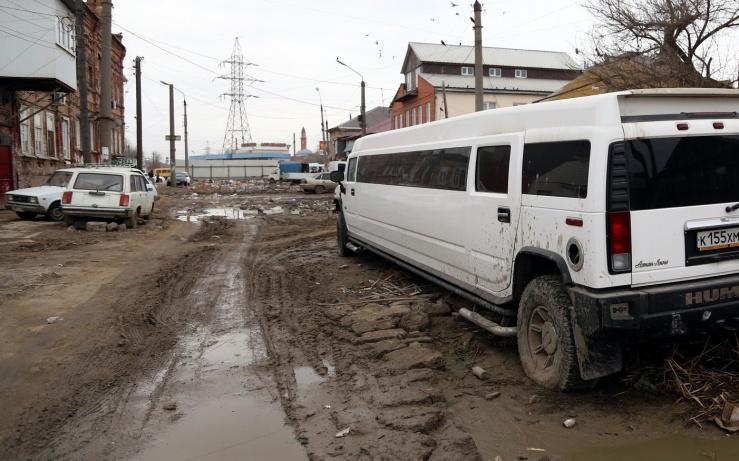 Астраханские дороги опозорились на всю страну