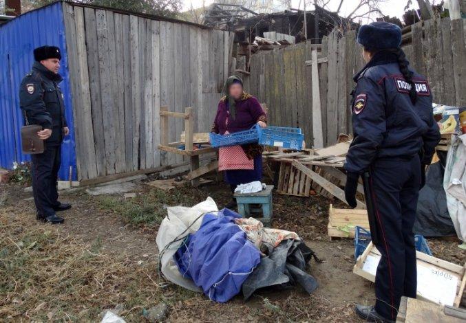 Астраханская полиция зачистила Большие Исады
