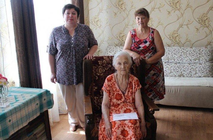Владимир Путин поздравил с 90-летием жительницу Ахтубинска