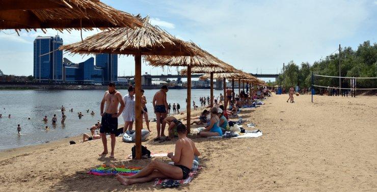 Песчаные пляжи в Астрахани исчезнут