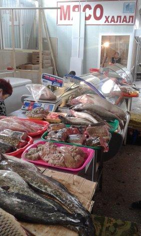 На «Татар-базаре» прошла облава в рыбных рядах