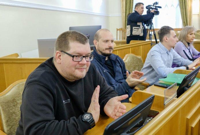 Астраханские журналисты Максим Терский и Глеб Иванов получили награды облдумы