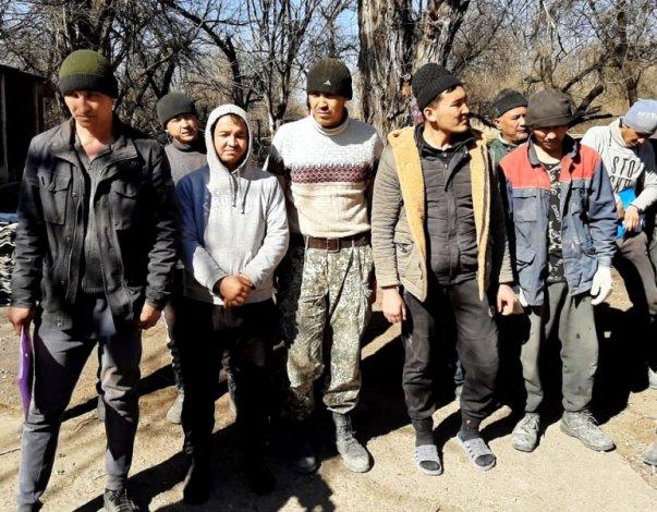 Под Астраханью задержаны 23 нелегала из Узбекистана