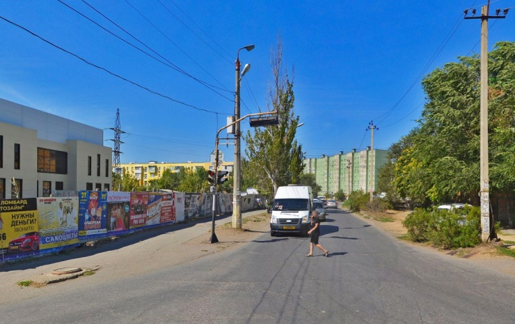 Улица Бориса Алексеева в Астрахани подготавливается к ремонту