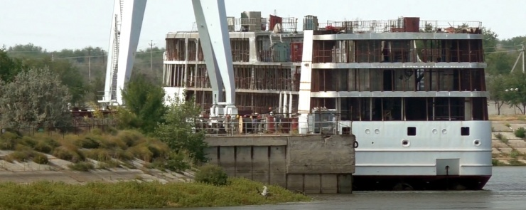 Астраханский лайнер «Петр Великий» достроят нижегородцы