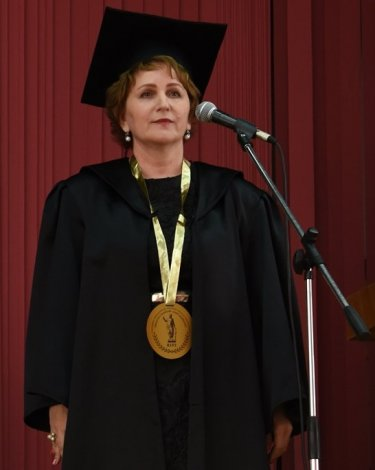 Вступила в должность новый ректор АГМУ