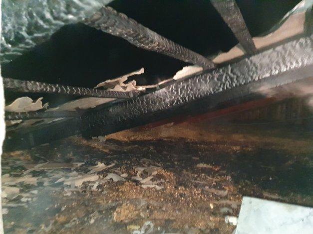В Астрахани и Ахтубинске горели жилые дома