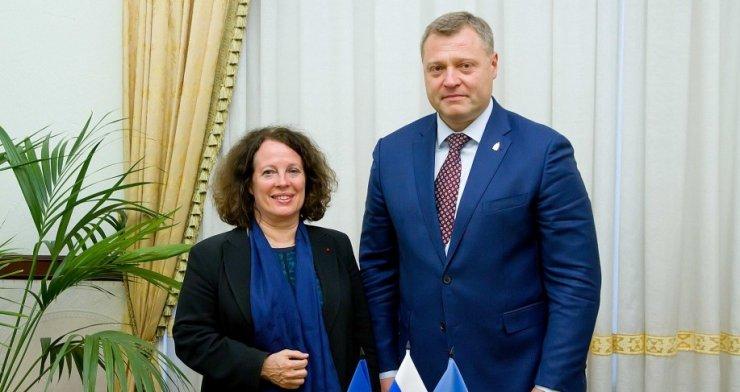Посол Франции посетила Астрахань, чтобы наладить сотрудничество