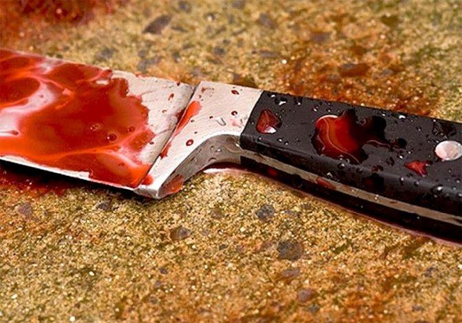 Под Астраханью зарезали 56-летнего мужчину