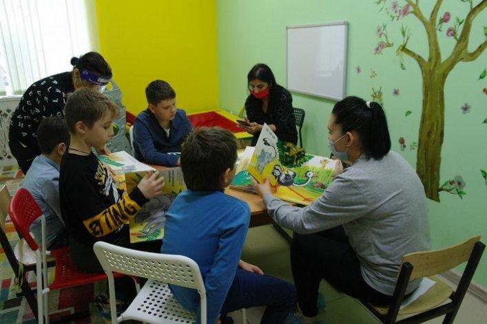 Проект астраханской библиотеки способствует развитию особенных детей
