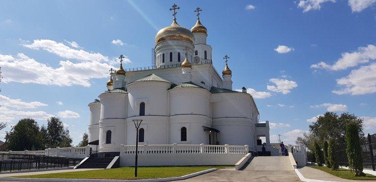 В Астрахани Богослужения проводятся без прихожан