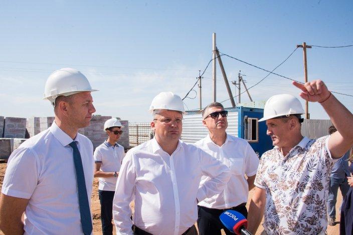 Новый детский сад и новая школа – Игорь Мартынов в Наримановском районе