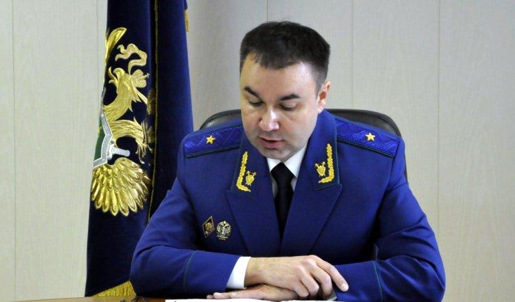 За что уволили прокурора Астраханской области Лычагина