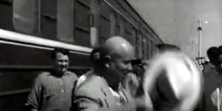 В сети появилось видео 60-летней давности о приезде Хрущева в Астрахань