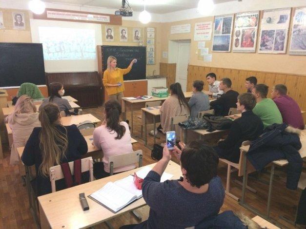 Астраханские школьники выбирают будущие профессии