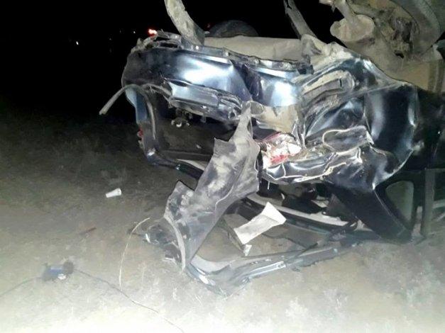 В Астраханской области погиб водитель без прав
