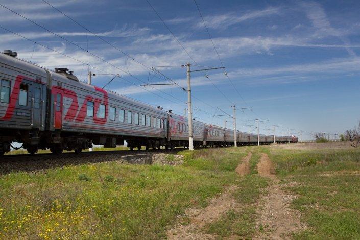 Вагоны поездов в Астрахани проходят ежесуточную дезинфекцию