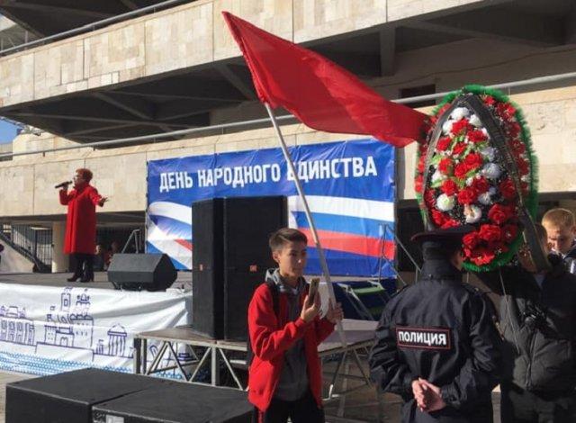 Астраханские коммунисты устроили провокацию на 4 ноября