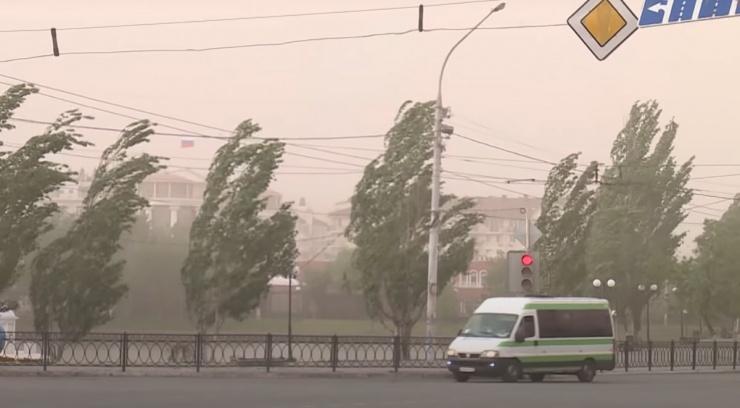 «Фобос»: в Астрахани ожидаются песчаные бури и аномальная жара