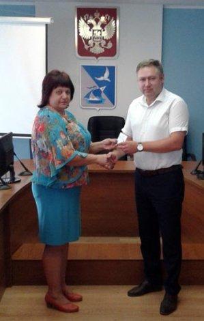 Глава Ахтубинского района вступил в должность