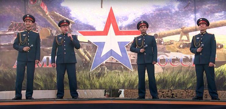 Под Астраханью спели китайским военным