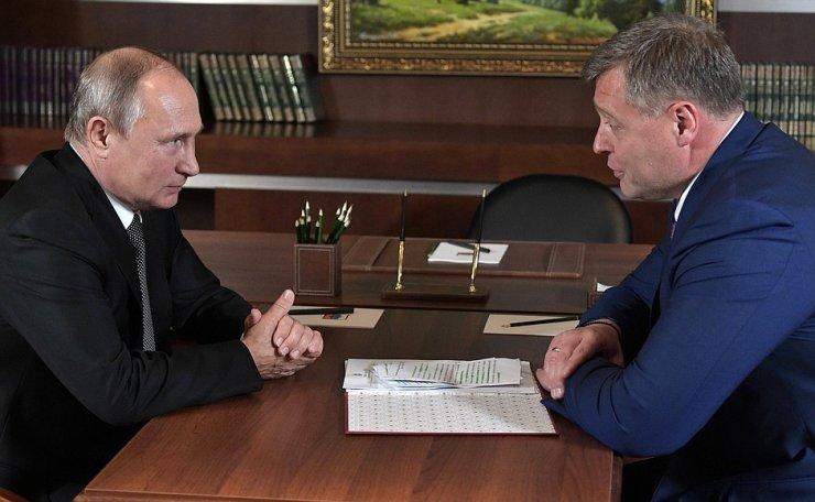Владимир Путин и Игорь Бабушкин вновь поговорили. Встреча в Казани