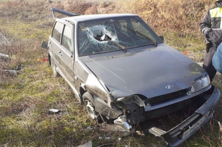 Под Астраханью в ДТП пострадала несовершеннолетняя