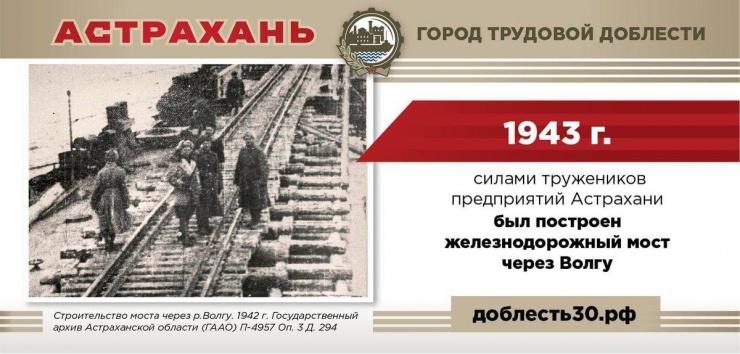 Астрахань все ближе к статусу «Город трудовой доблести»