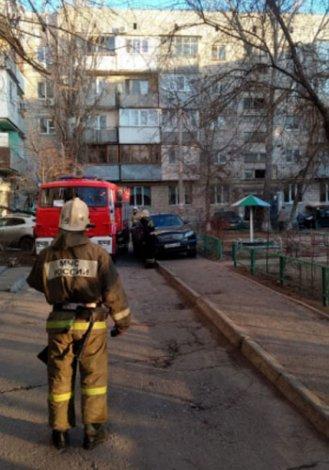 Первое весеннее воскресенье в Астрахани ознаменовалось пятью пожарами