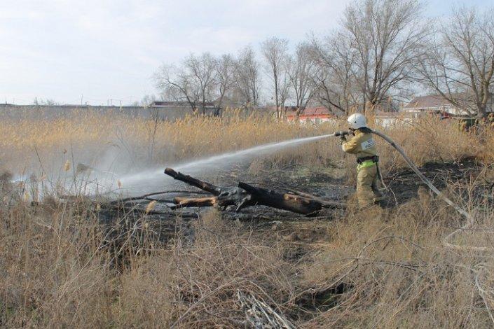 Игорь Бабушкин контролирует ситуацию с ландшафтными пожарами