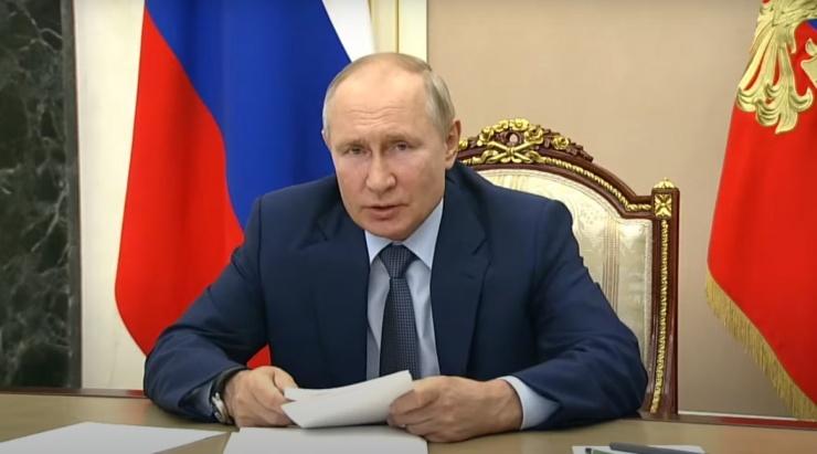 Владимиру Путину доложили о ситуации в Астраханской области