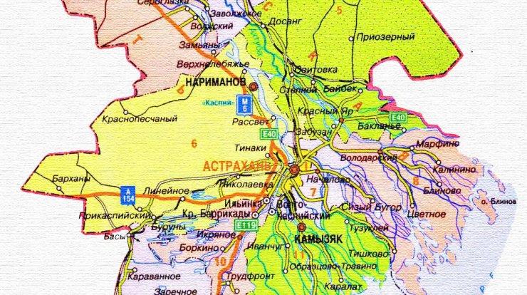 За районами Астраханской области закреплены новые «смотрящие»