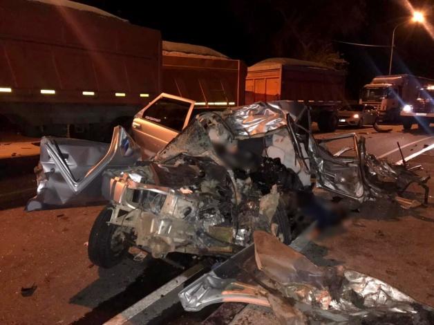Трое человек погибли сегодня ночью при ДТП в Астраханской области