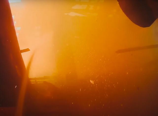 На пожаре под Астраханью погиб мужчина