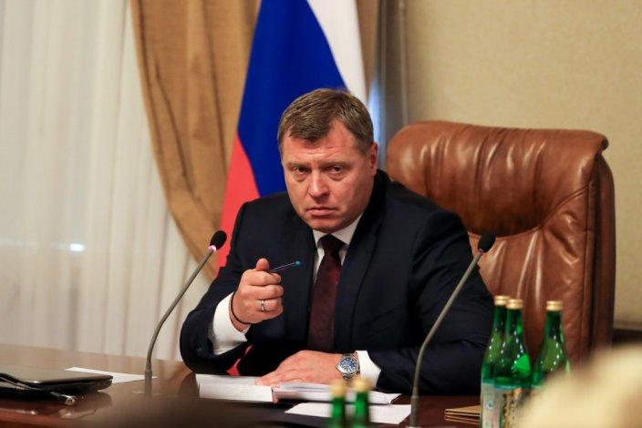 С губернатором Астраханской области становится теплее
