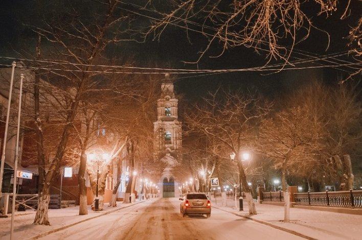 Астрахань ожидает снегопад при плюсовой температуре