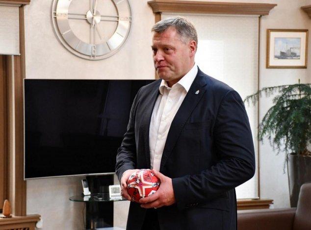 Игорь Бабушкин обсудил в столице развитие астраханского гандбола
