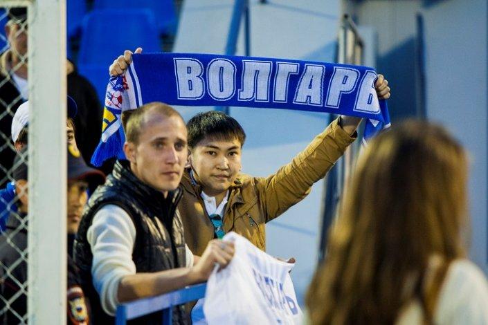 В Астрахани на выходных состоится домашний матч «Волгаря»