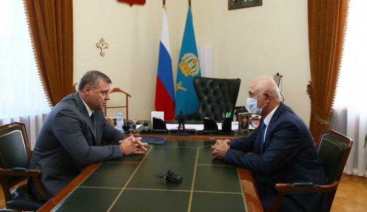 Губернатор Бабушкин и депутат Шарапудинов обсудили межнациональные вопросы