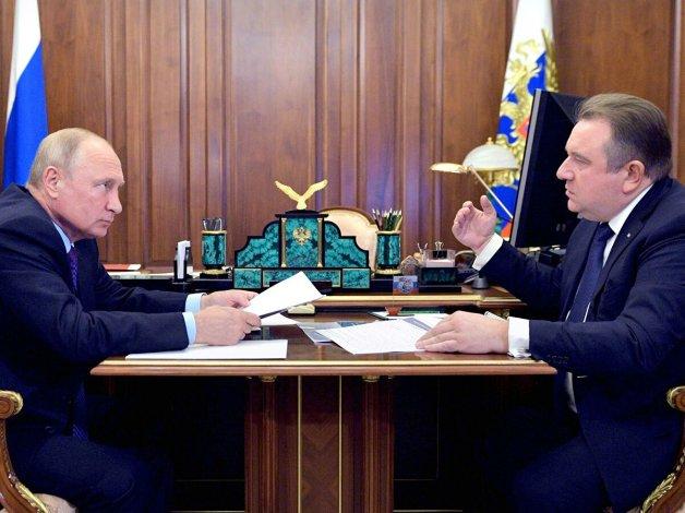 Путину доложили о перспективах развития Астрахани