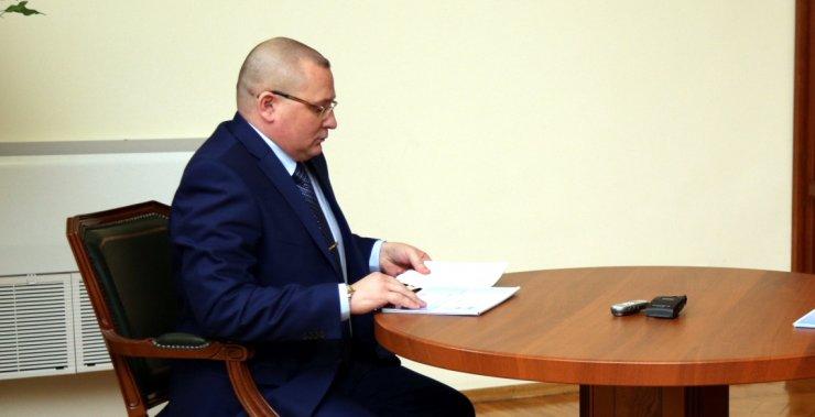 Глава Черноярского района Заплавнов получил представление прокуратуры