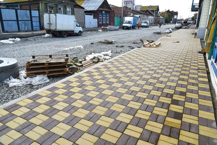 В районе улицы Каховского выполнена большая часть работ