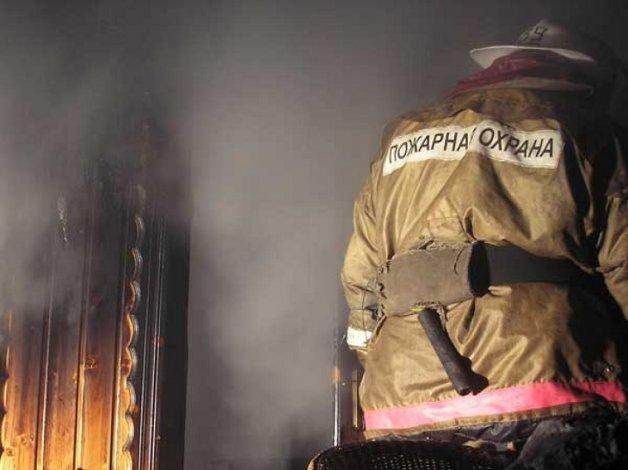 В Енотаевке сгорел пьяный пенсионер