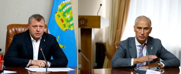 Губернатор Игорь Бабушкин представил журналистам нового главу облкабмина